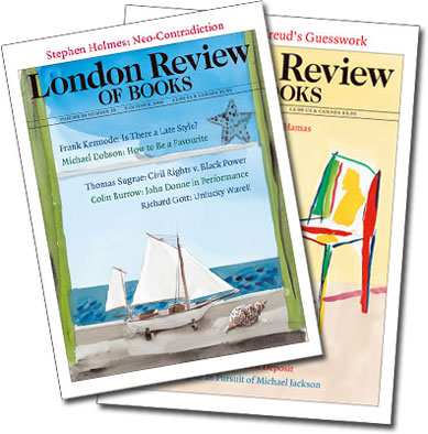 Thirsting for knowledge? Subscribe to the London Review of Books by clicking here!